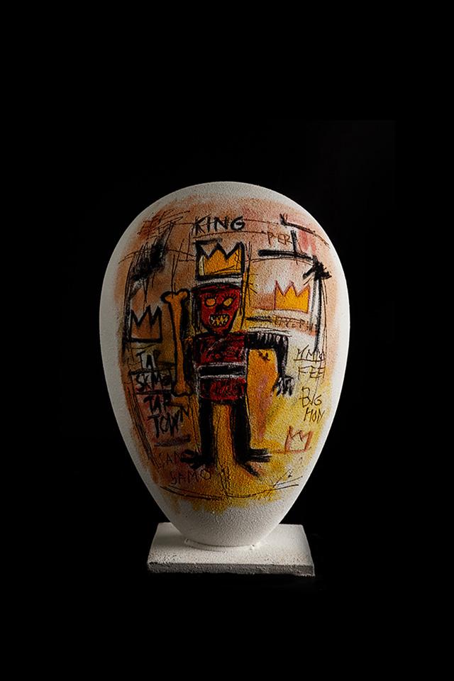 Uovo Pasqua Basquiat